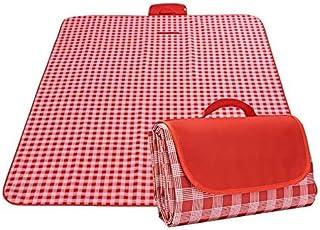 7WUNDERBAR Koc piknikowy, 200 x 200 cm, koc plażowy, mata piknikowa, mata na plażę, do aktywności na świeżym powietrzu, wo...