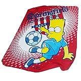 Simpsons Tagesdecke Bart Simpson Decke für Kinder