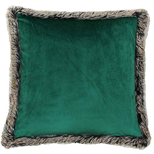 Paoletti Kiruna New C/CASE 45X45 Emerald, Polyester, Smaragd, 45x45cm