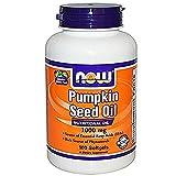 Now Foods, Pumpkin Seed Oil, 1000 mg, 100 Softgels - 2PC