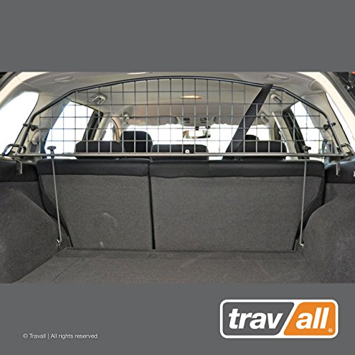 Travall Guard Compatible with Subaru Outback and Legacy Wagon (2009-2014) TDG1182 - Rattle-Free Steel Vehicle Specific Pet Barrier
