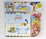 Disney Baby. Libro de baño: Libro con seis figuras...