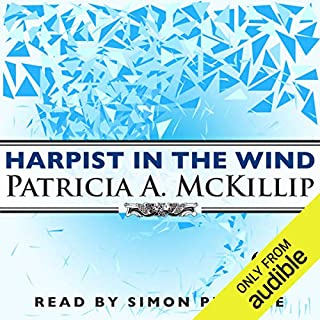 Harpist in The Wind audiobook cover art