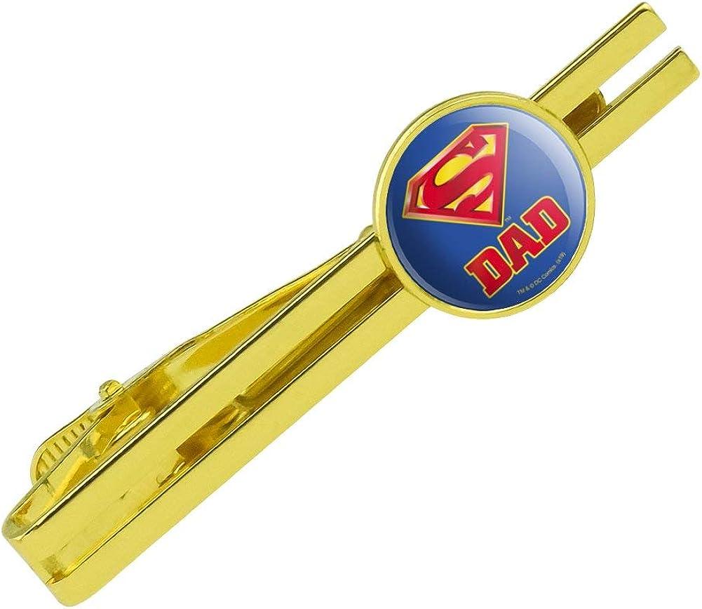 GRAPHICS MORE Superman Super Washington Mall Dad Shield Logo Cli Bar Tie Sales for sale Round