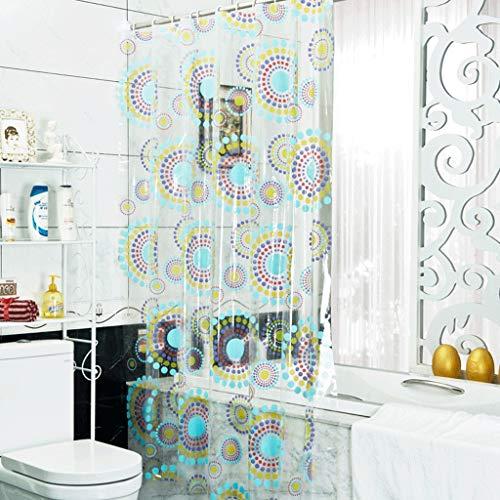 YXN PVC waterdichte dikke warme badkamer gordijn badkamer douche partitie douchegordijn opknoping gordijnen gordijn gordijn douchegordijn doek
