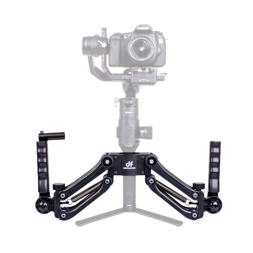 Only Grip Included Neewer Carbon Fiber Dual Handle Grip Holder-Diameter-Adjustable 25-45mm for Zhiyun Crane 2//Crane V2//Crane Plus//Crane//Crane M//Feiyu G6 Plus//A1000//A2000//MOZA Air Aircross Gimbals