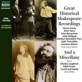 Great Historical Shakespeare Recordings cover art