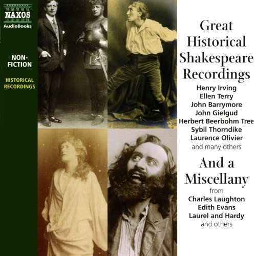 Great Historical Shakespeare Recordings audiobook cover art