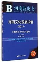 河南蓝皮书:河南文化发展报告(2015)
