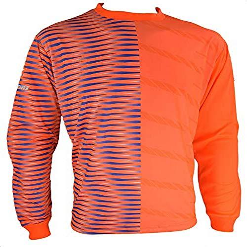 Vizari Sport USA Portola GK Jersey Orange/Royal/Silver Size yl