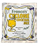 Franco's New Orleans Style Cyclone Cocktail Powdered Mix, 9 Ounce Pouch (Makes One Quart)