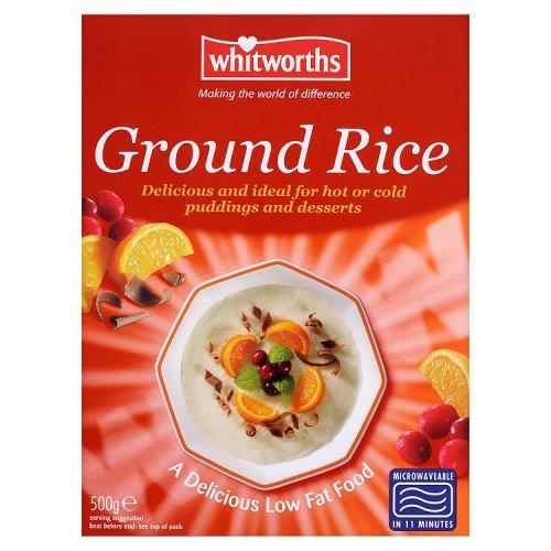 Whitworths Gemahlener Reis (500G)