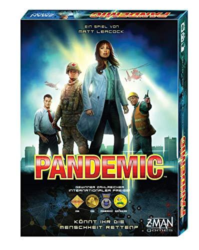 Asmodee Pandemic, Grundspiel, Familienspiel, Strategiespiel, Deutsch