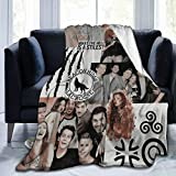 Teen Wolf Blankets Be Your Own Anchor Quotes Poster What The Hell is a Stiles Beacon Hills Lacrosse Merch Celtic Triskelion Symbol Throw Blanket Teen Wolf Claws Poster (50'x40')