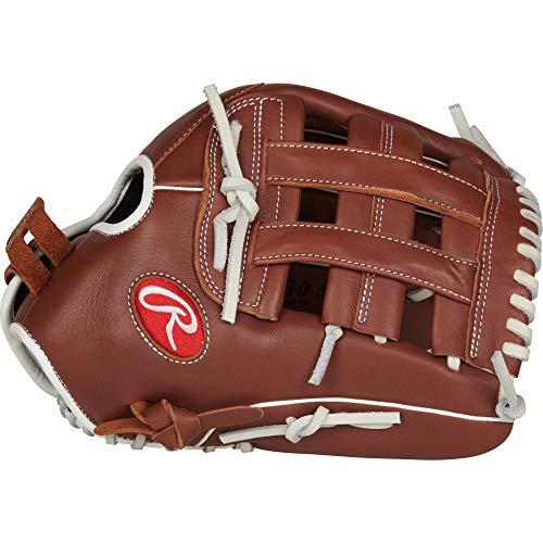 Rawlings R9 Softball Series 13' of, R9SB130-6DB-3/0 Gloves, Right Hand Throw