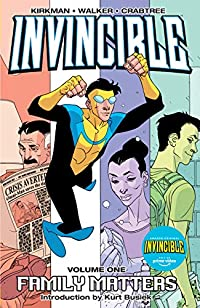 Invincible Vol. 1: Family Matters  cover image