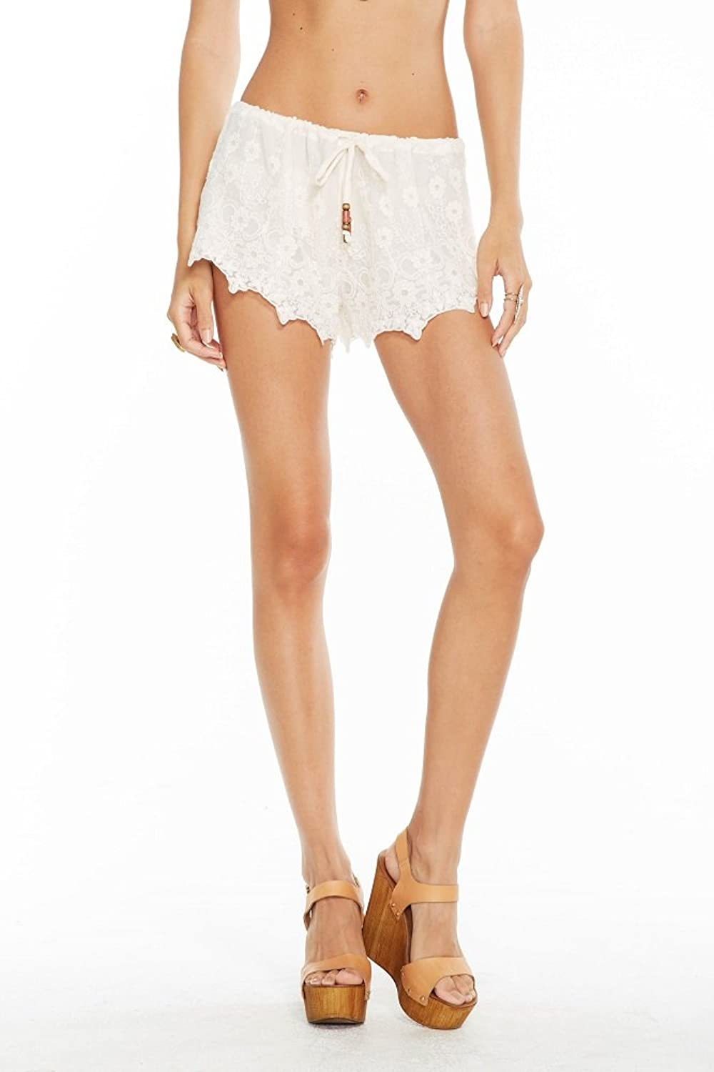 Chaser Women's Vintage Lace Drawstring Short