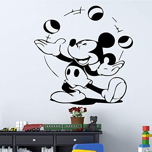 Tianpengyuanshuai muursticker voor kinderen en slaapkamer, waterdicht, vinyl wandtattoo, cartoon