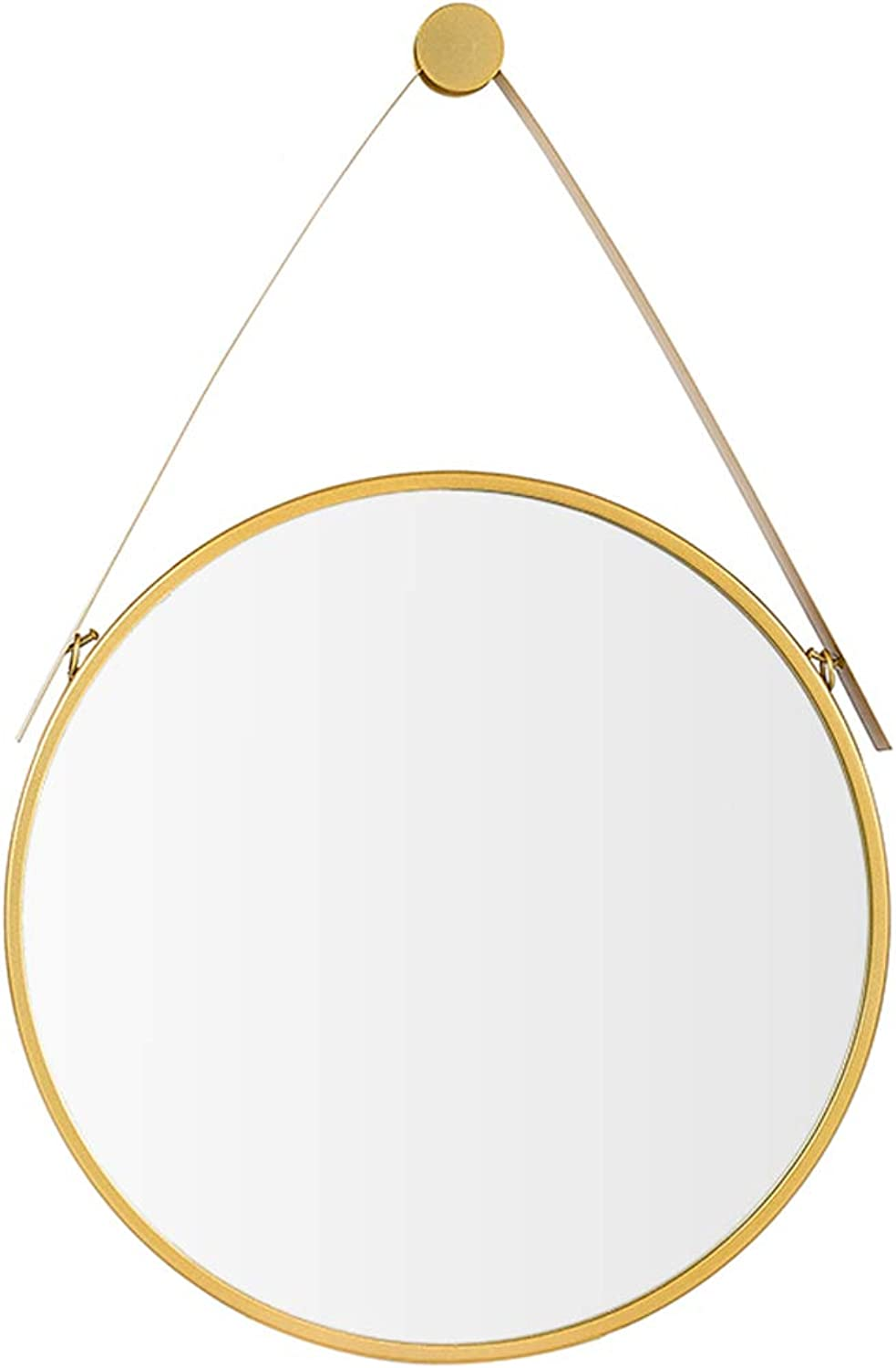 Vanity Mirror Bathroom Metal Frame Wall-Mounted Round Makeup Hanging Mirrors Decorative Shower Shave Mirror for Entrance Hall Living Room Bedroom 30CM-80CM(12Inch-32Inch)