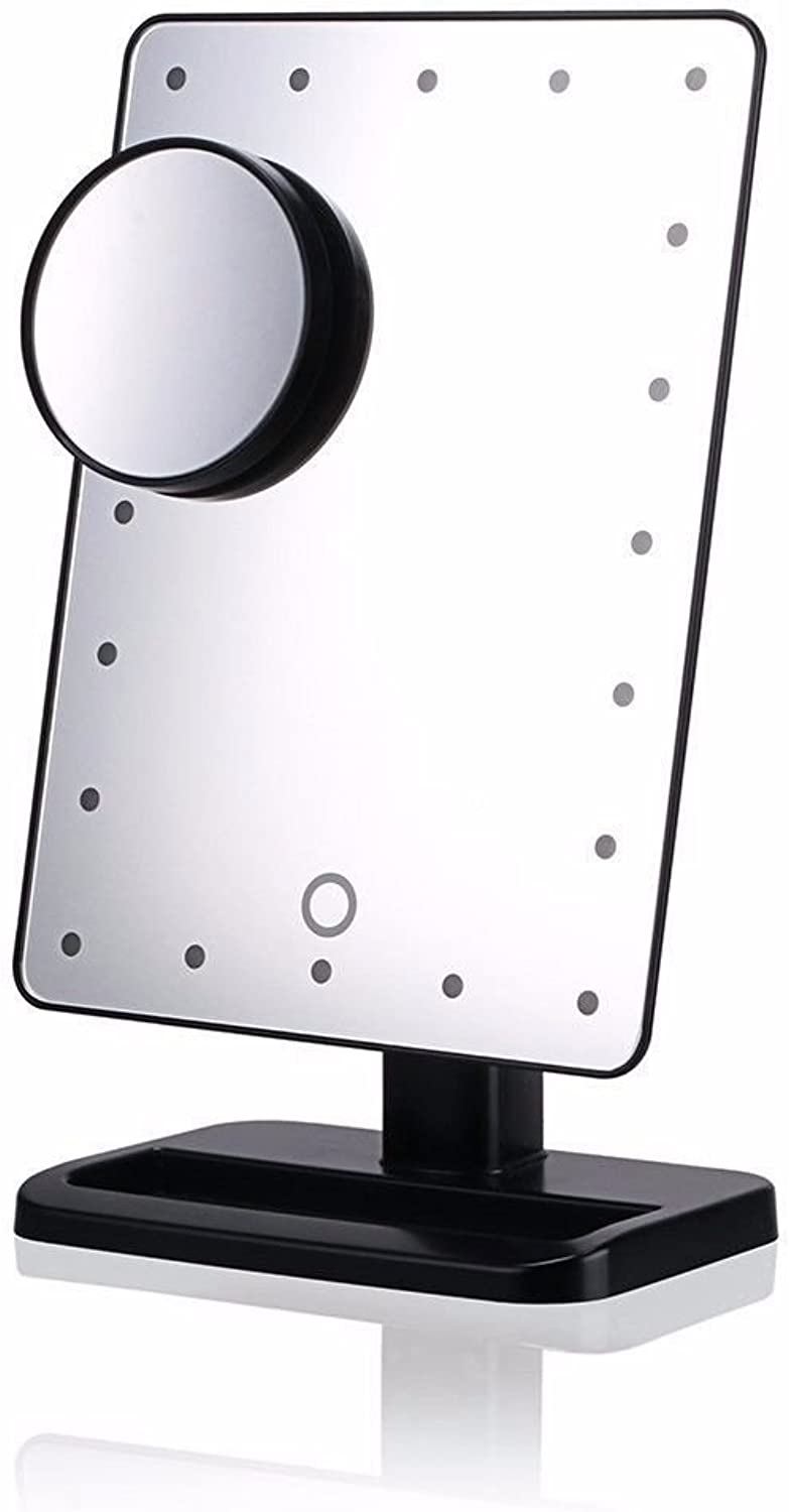 Makeup Mirror,Waay Next Generation Lighted with 10x Magnification Accessory