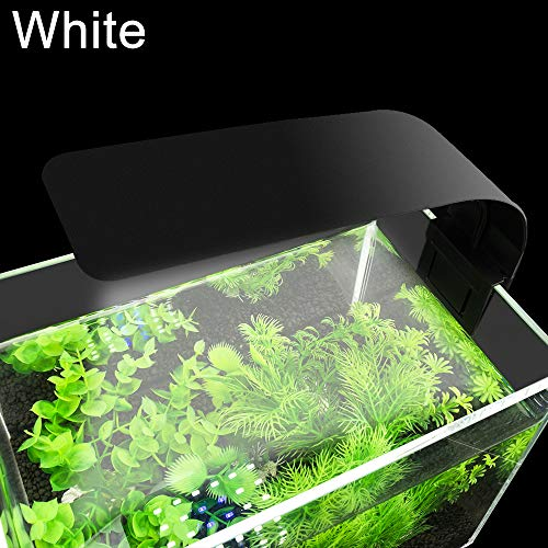 Senzeal X5 Virgo 24 LED Aquarium Light 10W Clip-on Lamp Aquatic Plant Lighting for 10-15inch Fish Tank (Black)