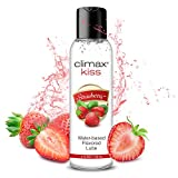 Best Lube For Women - Climax Strawberry Flavored Water Based Lube-4 oz Natural Review