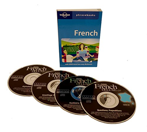 Topics Instant Immersion Learn to Speak French Language (4 Audio CD Set with Phrasebook) Listen in Your car!