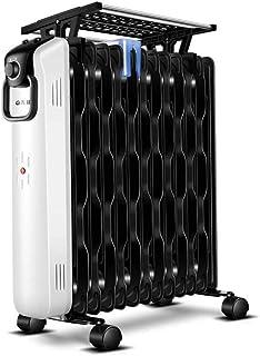 LHY-Calefactores cerámicos Calentador Portátil De 2200 Vatios con Radiador De Aceite Y Termostato para Corte De Seguridad Térmica para El Hogar Y La Oficina Y Protección contra Altas Temperaturas