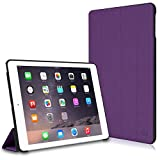 iPad Air 2 Case, CaseCrown Omni Case (Purple) Multi-Angle Viewing Stand & Sleep / Wake
