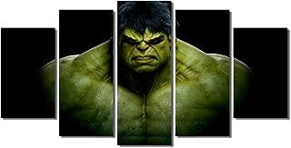 Picture Sensations Framed Canvas Art Print, Incredible Hulk Marvel Comics Wall Canvas Art - 60