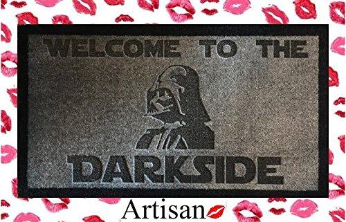 ARTISAN KISS Zerbino Lavabile 70 cm x 40 cm Grigio Chiaro Star Wars Dartth Vader Welcome to The Darkside