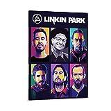 RTYHJ Linkin Park Poster, dekoratives Gemälde, Leinwand,