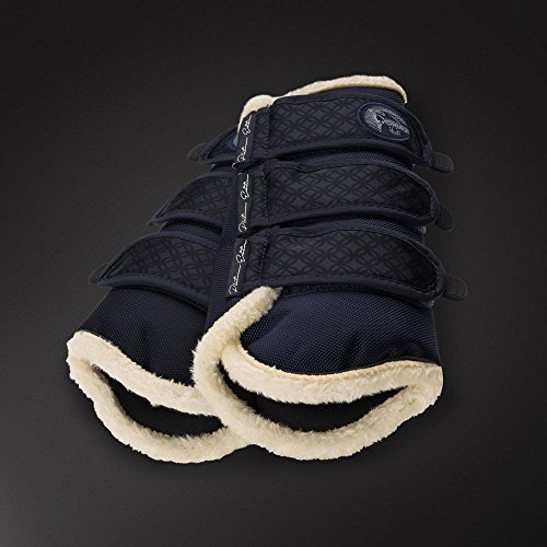 Gamaschen ALLROUND Vorne (Platinum ltd.) - Color Darknavy - Size (Horse) Vollblut