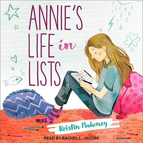 Annie's Life in Lists audiobook cover art
