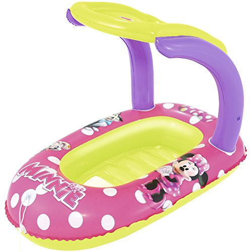 Best Way Canottino con Cappottina Minnie Cm 112X71 Canotto E Canoa Gonfiabili 680, Multicolore, 6942138917598
