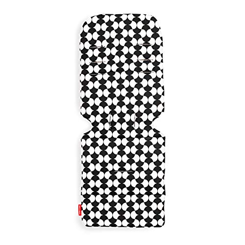 Maclaren Universal Seat Liner- Two-Sided. Machine Washable. Attach to Harness Straps of All Maclaren and Umbrella-fold Strollers