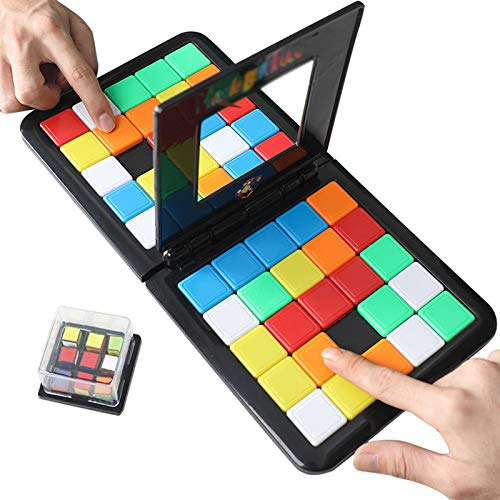 Nonebranded Juego de Batalla de tableros de Cubo de Rubik, Juego de Cubo de Rubik de Rubik, Estrategia clásica Juego de la Junta de Inteligencia de Inteligencia.