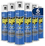 CUQOO Rapid Action Fly & Wasp Killer In 300ml – High Strength Fly Killer Wasp Spray Kills Flies & Wasps in Seconds - Fly Killer Spray for Indoor & Outdoor - Odourless Insect Killer Fly Spray Pack of 6