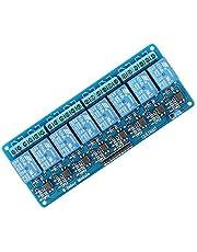 SeeKool 8-kanaals DC 5V relaismodule board 5V voor Arduino UNO R3 MEGA 2560 1280 DSP ARM PIC AVR STM32 Raspberry Pi