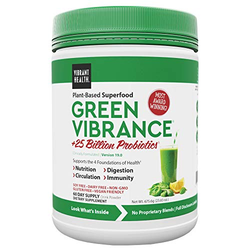Vibrant Health - Green Vibrance - Superfood & Probiotics Powder