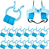 Nose Stop Clips Nasal Nose Stopper Clips Plastic Foam Nose Clips for Emergency or Accident (30)