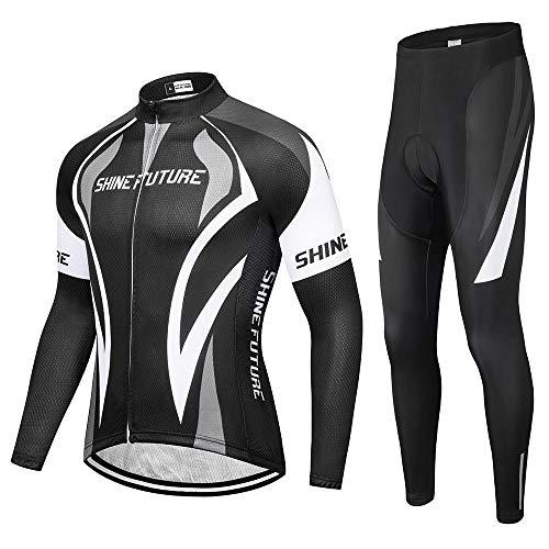 shine future Maillot Ciclismo Hombre,Mayot Bicicleta Hombre Ropa Ciclismo ,Maillot Ciclismo Hombre...
