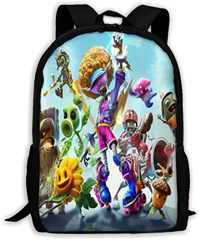 Backpack Plants vs Zombies School Daypack Shoulder Travel Bag Laptop Backpacks For Adults Kids product image