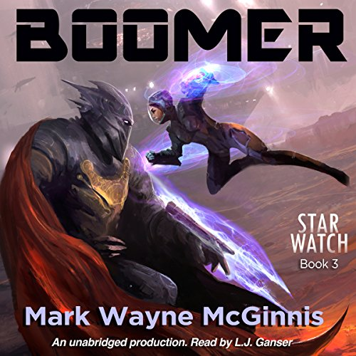 Boomer audiobook cover art