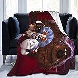 Yanlian1 The Secret Li-fe of Pets Blanket Warm and Durable Ultra-Soft Micro Fleece Blanket,50'' x40
