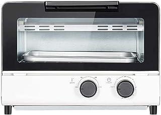 TGhosts Horno, mini horno 12L Ajuste de temperatura de 0 a 230 ℃ y 60 minutos temporizador Hogar multifuncional de escritorio superior e inferior de temperatura integrado y vapor Horno Horno Integrado