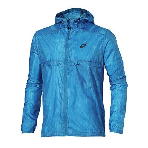 ASICS Damen fuzeX Packable Jacket Men Jacken, Blau, L