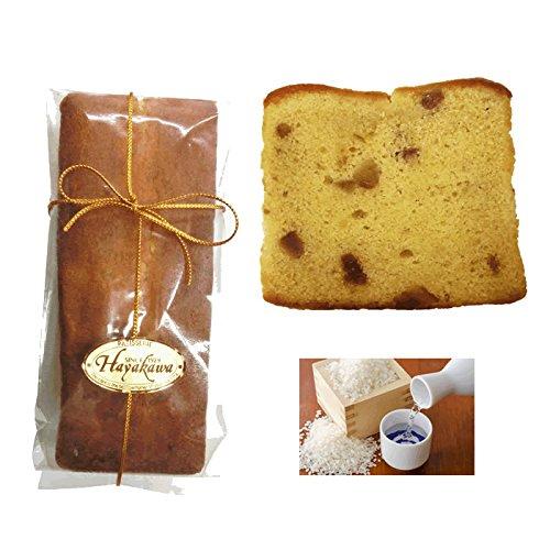 みりんと米粉のマロンケーキ 小麦粉不使用(グルテンフリー) 大吟醸原料 「山田錦」の米粉を使用 メッセージカード付けられます