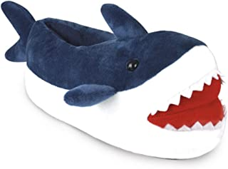 Slumberzzz Garçons Nouveauté 3D motif de requin Fullback Pantoufles