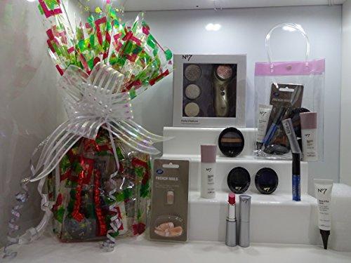 No7 ultime Panier cadeau pour elle ~ Soins de la peau – Make Up – Ensemble de pédicure – Panier cadeau pour elle Cadeau Emballé. 003.